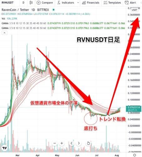 Rvn,ravencoin,仮想通貨,チャート